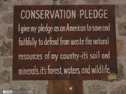 Conservation Pledge